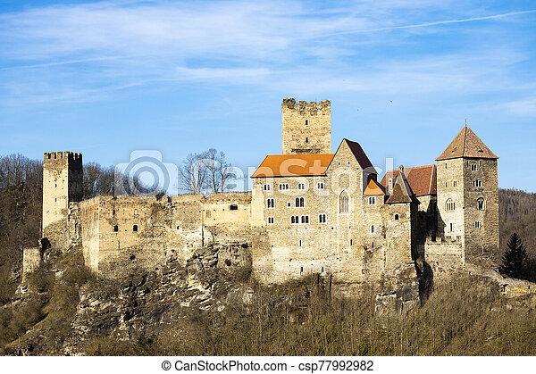 Hardegg Castle in North Austria - csp77992982
