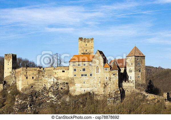 Hardegg castle in north Austria - csp78878692