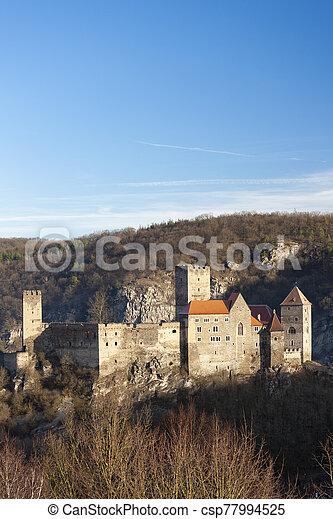 Hardegg castle in Northern Austria - csp77994525