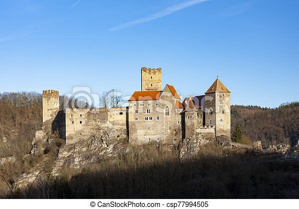 Hardegg castle in Northern Austria - csp77994505