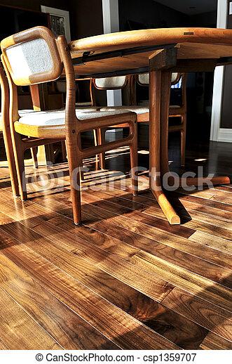 Hardwood floor - csp1359707