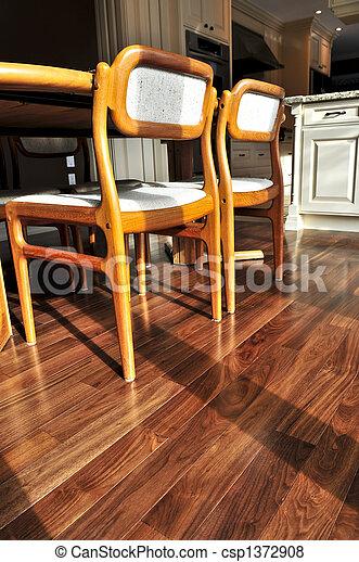 Hardwood floor - csp1372908