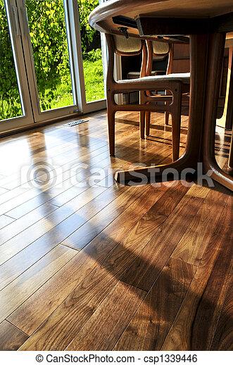 Hardwood floor - csp1339446