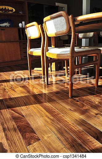 Hardwood floor - csp1341484