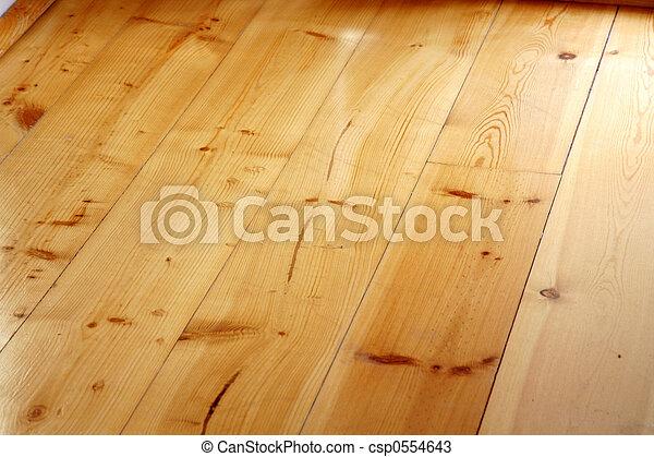 Hardwood floor - csp0554643