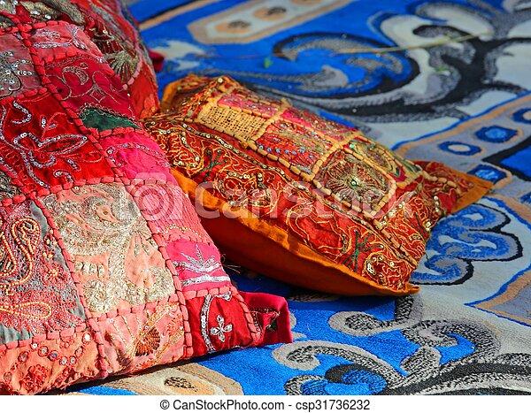 Cuscini Arabi.Prezioso Harem Cuscini Arabo Moquette