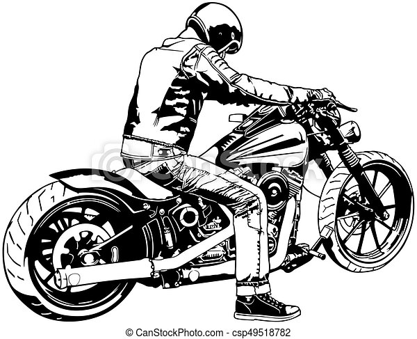 Motorbike Tours Clip Art Vector And Illustration 638 Motorbike