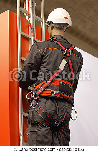 harnais, sécurité - csp23318156