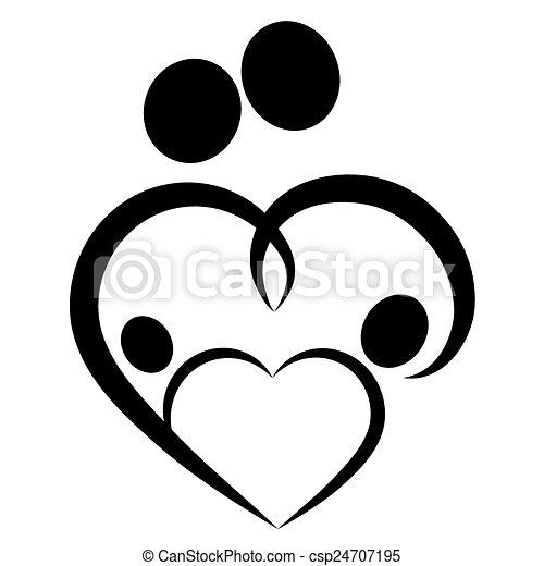 hart symbool gezin hart vector gezin symbool eps vectors zoek naar clipart illustratie. Black Bedroom Furniture Sets. Home Design Ideas