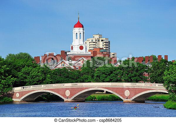 Harvard campus in Boston - csp8684205