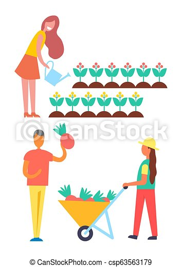 Clipart of a Cartoon Happy White Man Pushing a Shopping Cart Full of  Groceries - Royalty Free Vector Illustration by visekart #1373517