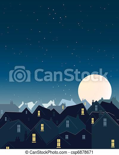 harvest moon - csp6878671