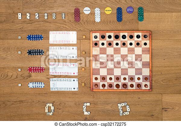 hasardspel, vilt planka, bakgrund - csp32172275
