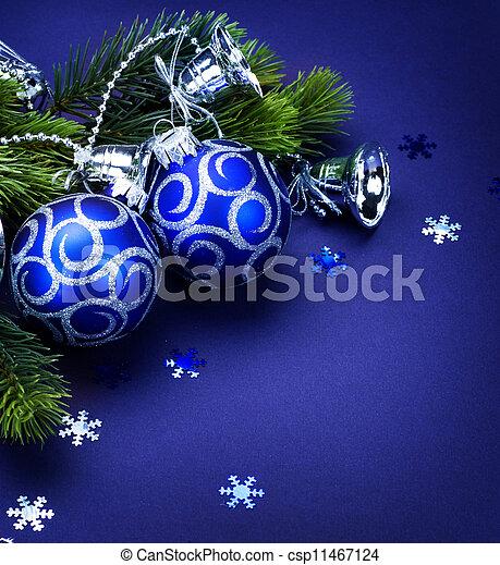 határ, karácsonyi üdvözlőlap - csp11467124