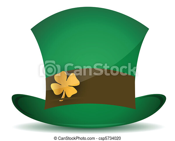 Hat for St. Patrick's Day - csp5734020