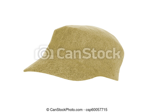 Hat Isolated on White Background - csp60057715