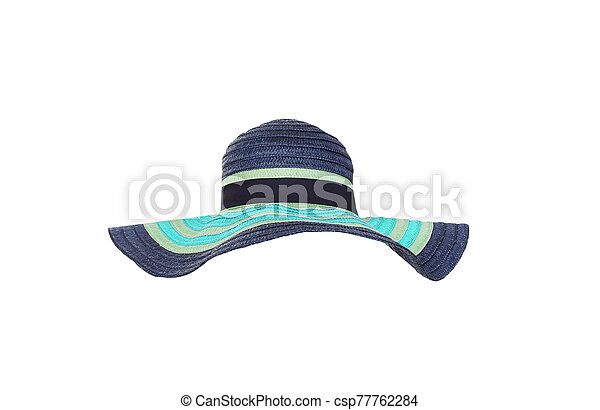 Hat isolated on white background. - csp77762284