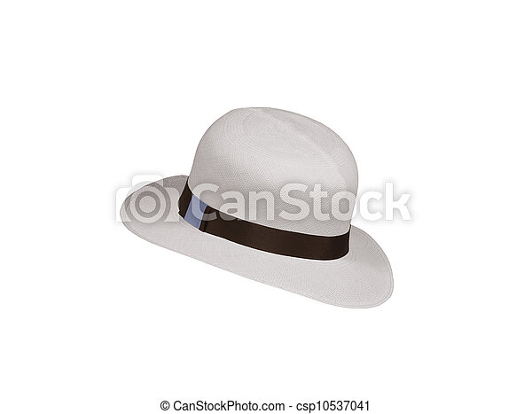 Hat isolated on white background - csp10537041