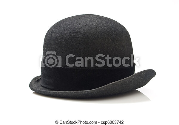 Hat isolated on white background - csp6003742