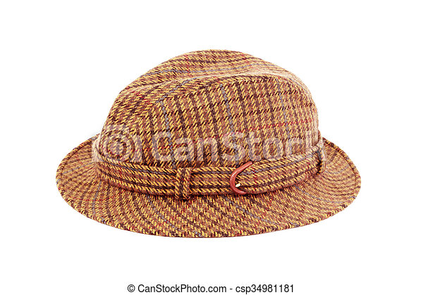 hat Isolated on white - csp34981181