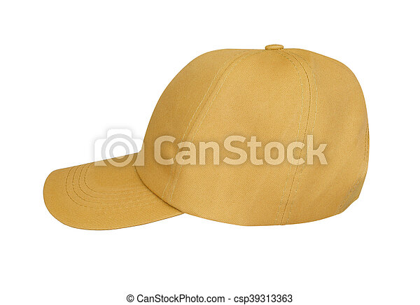 hat isolated on white - csp39313363
