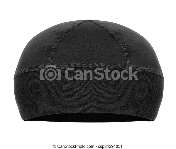 hat isolated on white - csp34294851