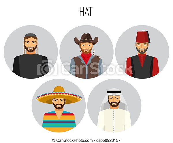Fez - hat Vector Clip Art Illustrations. 554 Fez - hat clipart EPS vector  drawings available to search from thousands of royalty free illustration  providers.