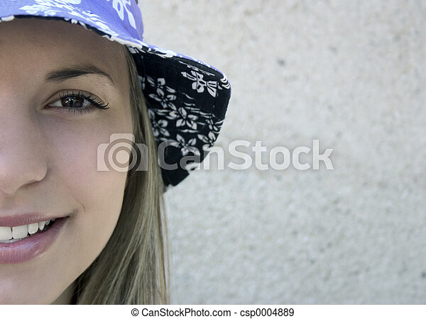 Hat Woman - csp0004889