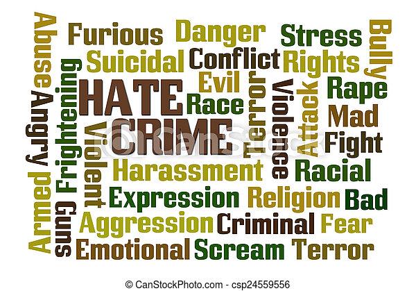 Hate Crime - csp24559556