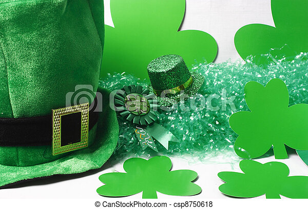 Hats & Green Stuff - csp8750618