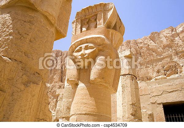 hatshepsut, 女王, 寺院 - csp4534709