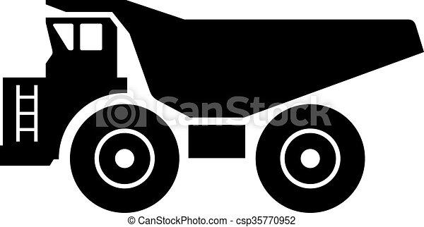 Haul truck - csp35770952