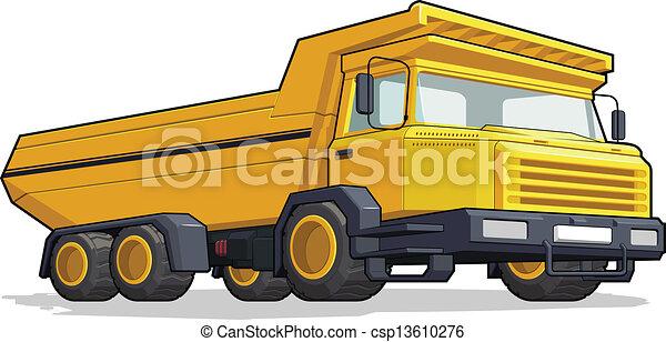 Haul Truck/Construction Truck - csp13610276