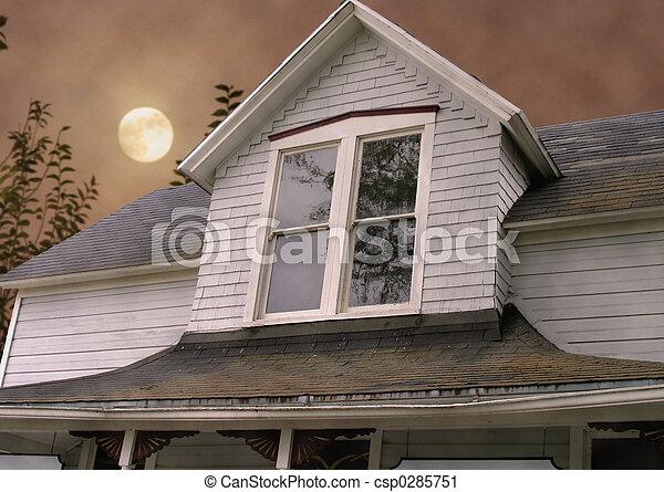 Haunted House - csp0285751