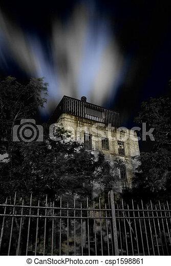 Haunted House - csp1598861