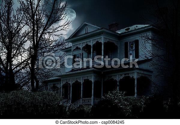 Haunted House - csp0084245