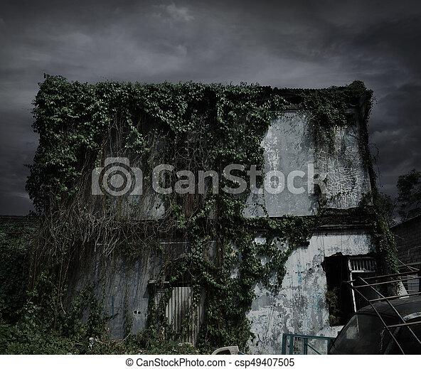 Haunted house - csp49407505