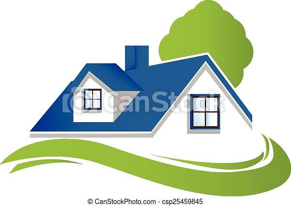Haus Baum Logo Kleingarten Wohnungen Baum H 228 User