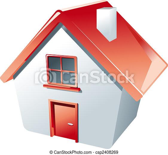 Haus-Ikone - csp2408269