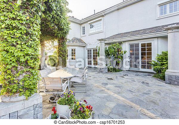 Haus Kleingarten Luxus Hinterhof