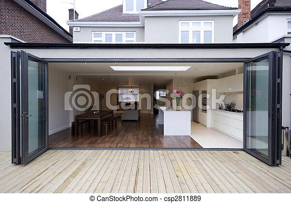Haus, Verlängerung, Kueche   Csp2811889