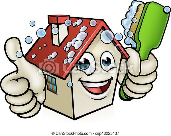 haus zeichen putzen karikatur geben haus reinigung vektoren suche clipart. Black Bedroom Furniture Sets. Home Design Ideas