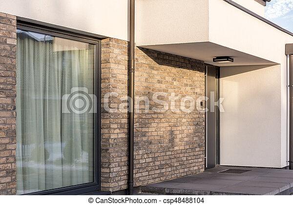 Hauseingang Modern Design Csp.