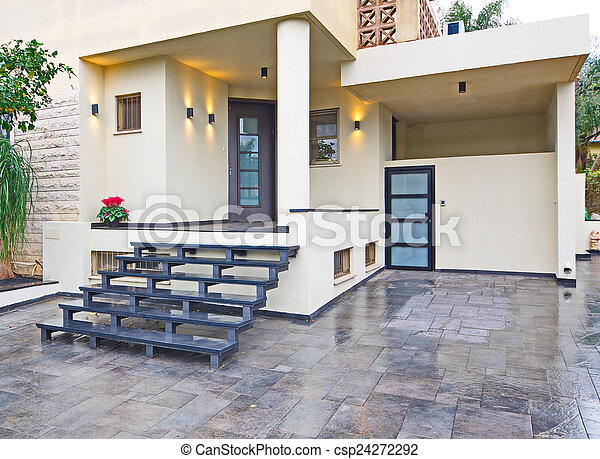 Hauseingang Modern Mittelmeer Csp.