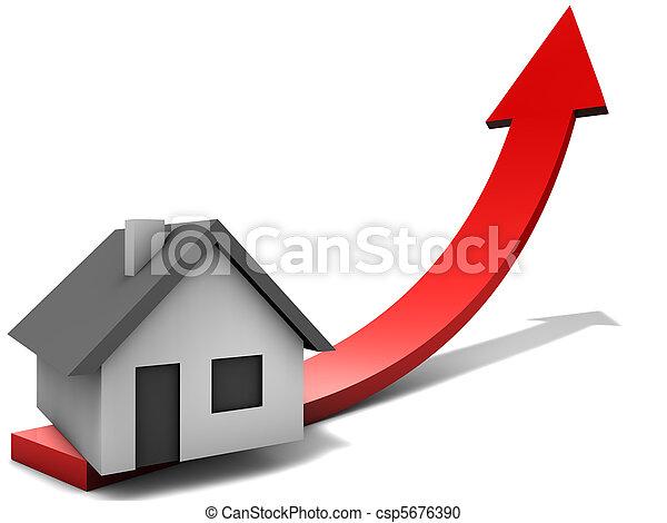 Immobilienmarkt - csp5676390