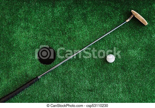 Haut balle golf bureau cours club golf miniature fin