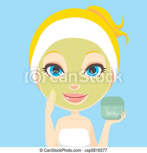 Gesichtspflege - csp5816377