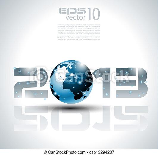haute technologie, style, technologie, 2013 - csp13294207
