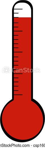 haute température, thermomètre - csp1607575
