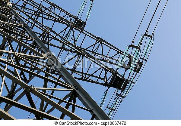 haute tension - csp10067472